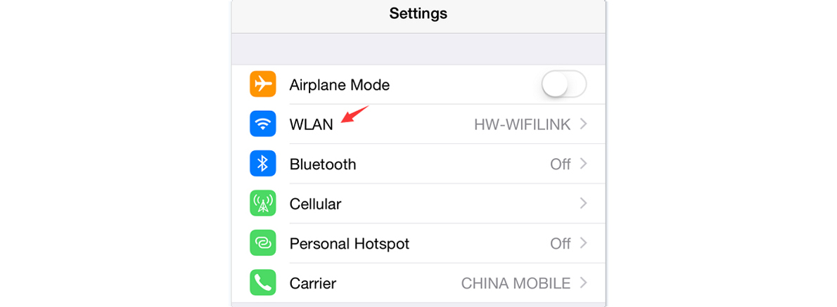 How to Connect an iOS Phone (w/ connecting to a WiFi Express) to the Internet