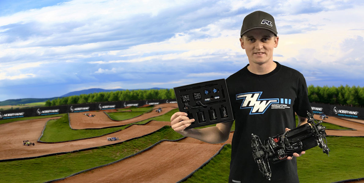 Off-road Driver Ty Tessmann signs with HOBBYWING
