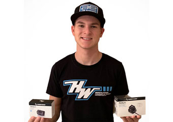 Spencer Rivkin (IFMAR World Champion & Multiple ROAR National Champion) signs with Hobbywing